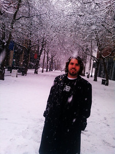 Kav in some crazy Seattle snow!!