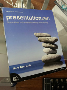 Check out Gary's blog at http://www.presentationzen.com/