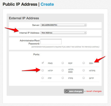 Adding the IP Address