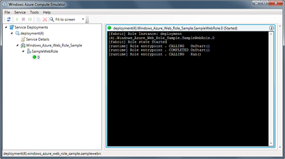 Windows Azure Compute Emulator