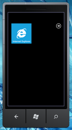 Windows Phone 7 List Application Screens