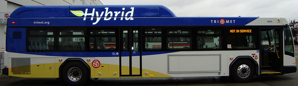 Trimet's new hybrid.